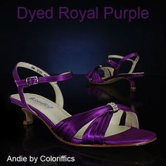 Finally found my purple shoes w/out a crazy heel!