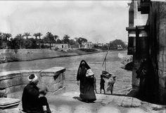 #Egypt 1900 - Nile Scene