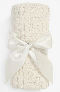 Nordstrom Baby Cable Knit Blanket available at #Nordstrom