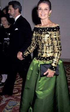 Audrey Hepburn and Robert Wolders