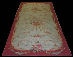 Aubusson rugs Aubusson Rugs, Fabric Rug, Needlepoint Pillows, Tapestries, Carpets, Fabrics, Textiles, Antiques, Wallpaper