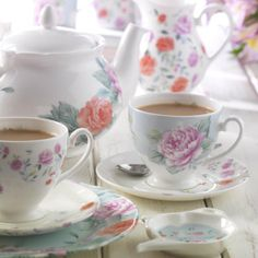 Ascot Floral fine china