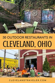 Looking to enjoy the nice Midwest weather alongside your drink or meal? This guide to the best patios in Cleveland, Ohio lists more than 30 great patios and outdoor spaces at local Cleveland restaurants and bars. Cleveland Food, Cleveland Restaurants, Midwest Weather, Cool Places To Visit, Places To Go, The Buckeye State, Toledo Ohio, Adventure Bucket List, Outdoor Restaurant