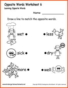 math worksheet : vocabulary worksheets worksheets and kindergarten worksheets on  : Junior Kindergarten Worksheets