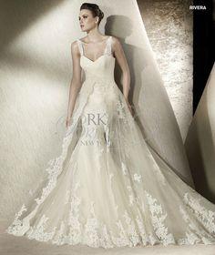 San Patrick Spring 2012 - Rivera (RK bridal) - looks very similar to Petunia from Pronovias