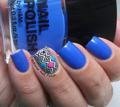 The Clockwise Nail Polish: H&M Blue My Mind