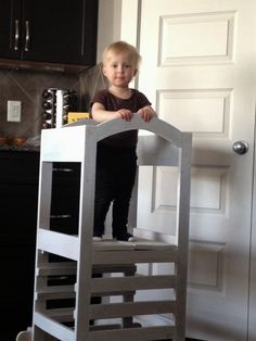 Ana White | Build a The Little Helper Tower | Free and
