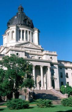 South Dakota's State Capitol Building in Pierre.  (Photo by South Dakota Tourism)