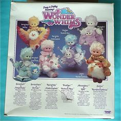 wonder+whims+dolls | wonder whims--I still have the white one with the purple owl (Moonglow ...