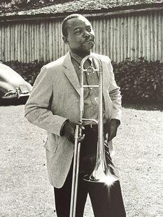 J. J. Johnson at the Newport Jazz Festival - 1961 // Photo by Jim Marshall