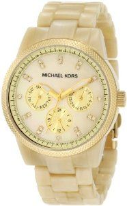 Michael Kors Women's MK5039 Ritz Horn Watch.. need this with a matching tennis bracelt for my 40th bday & 20th anniversary gifts