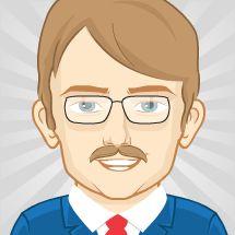 Checkout this avatar created by gtbulmer via pickaface.net