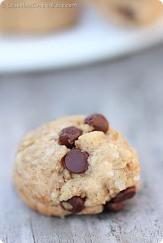 Oatmeal Chocolate Chip Cookie Dough Balls!