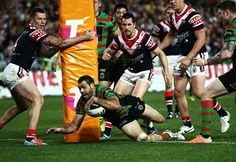 Souths through roosters out :) Rugby League, Roosters, Sumo, Wrestling, Sports, Lucha Libre, Hs Sports, Sport