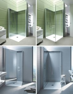 Small Space Design: 15 Fold-Up, All-In-One Bathrooms