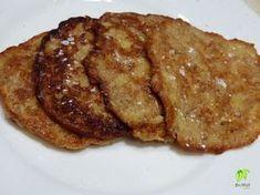 Almás, fahéjas mini zabpalacsinta --- 50-60 grzabpehely 1 eknyírfacukor kb. 0,5 dl tej (növényi tej vagy víz) 1 tojás 1 alma ízlés szerintőrölt fahéj kevéskókuszolajvagyhidegen sajtolt extra szűz napraforgó étolaj