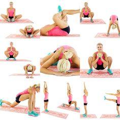 Hip flexor exercises
