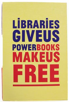 Libraries Give Us Power Cover
