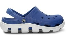 Crocs Duet Sport Clog - I love the rugged look. Comes in Black, Navy, Sea Blue and Raspberry.