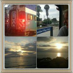 Train ride, San Diego.