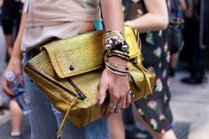 Bag stalking: We did the creeping for you. Photos by Jenna Marie Wakani.