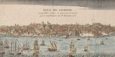 Learning from Lisbon: Contemporary Cities in the Aftermath of Natural Disasters Natural Disasters, Vintage World Maps, History, Learning, City, Nature, Lisbon, Historia, Naturaleza