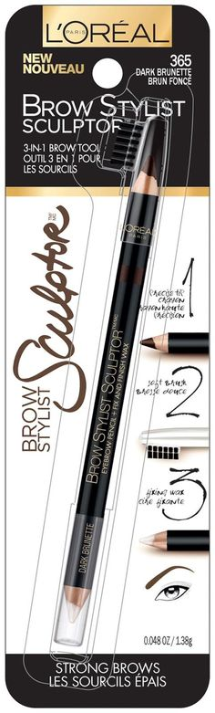 Review, Swatches: L'Oreal Paris Voluminous Miss Manga Black Angel Mascara & Brow Stylist Collection – See BEFORE/AFTER PHOTOS BELOW >>