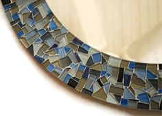 Round Mirror, Mosaic Wall Art