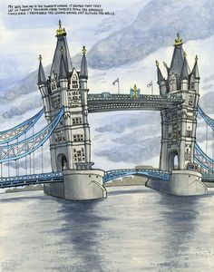 Urban Sketchers: Tower Bridge Is Not Falling Down
