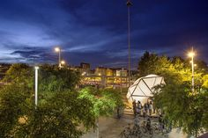 The ENDESA WORLD FAB CONDENSER is a thermodynamic prototype — a bioclimatic dome installed at the fast-changing Plaça de Glories, within the framework of the...