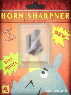 "Unicorn of the Day ""Unicorn Horn Sharpner"" | That's So Unicorny"