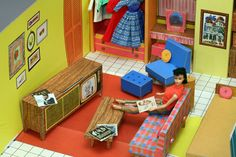 1963. This was my first house. I shared it with Barbie...and sometimes Ken. (shhh...don't tell mom)
