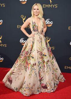 ¡WOW! Kristen Bell - Emmy 2016