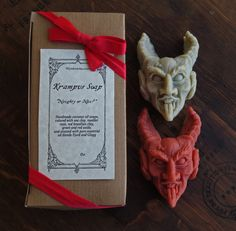 Whether as a stocking stuffer for the naughty person in your life, or a creepy cleansing buddy, Krampus soap is guaranteed to get noticed! Krampus...