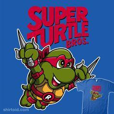 Super Turtle Bros Raphael
