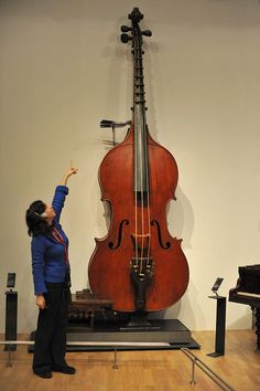 Octobass.  I would watch a movie where the Octobass takes over a major city.