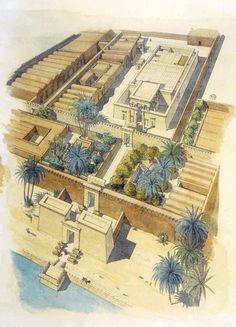 Egypt - Hibis - General view of the temple - jeanclaudegolvin.com