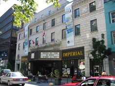 The Imperial Theatre opened on April 1913 in downtown Montreal, Quebec. It had a seating capacity of In the Imperial Theatr. Imperial Theater, Cinema Theater, Montreal Quebec, Film, 1980s, Street View, Canada, Beautiful, Cinema Theatre