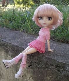 Evora ~ Pullip Prupate by ♥ Kety Marques -Mundo Doll ♥, via Flickr