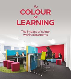 The impact of colour within classrooms | Spaceoasis Ltd