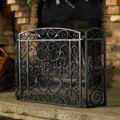 Fireplace Contemporary Fireplace Iron Door Design Art Duqaa Black Cast Iron Fireplace Screen Panel Outdoor Fireplace Bricks Wall Design Fireplace Screens Functions You Should Know