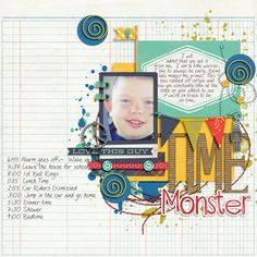 Time Monster - Scrapbook.com
