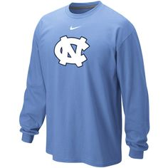 Make a simple yet effective team pride statement when you show off your love for all things Tar Heels in this Nike Classic Logo long sleeve tee! Featuring a team logo on the chest this comfy tee will make sure everyone knows where your loyalties lie.