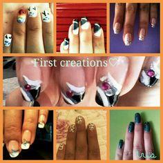 First Nail arts
