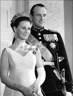 Prince Harald and his wife Princess Sonja