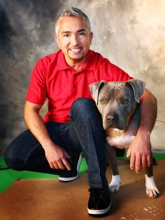 Cesar Millan--- the ultimate dog buddy^^