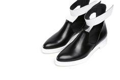 JADE WU 2015S/S FOOTWEAR COLLECTION OPEN CHELSEA BOOTIE #jadewu #shoes #bootie #2015ss
