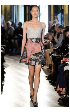 My Beautiful Dressing - London Fashion Week Michael Van Der Ham Spring-Summer Collection 2014