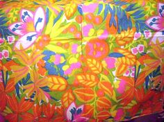 Vintage Scarf Table or Fashion Easter scarf spring by designfrills