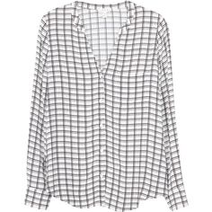 Anabella Top ($95) ❤ liked on Polyvore featuring tops, blouses, shirts, long sleeves, porcelain, white long sleeve shirt, graphic button down shirts, long sleeve shirts, button down shirts and white button up blouse